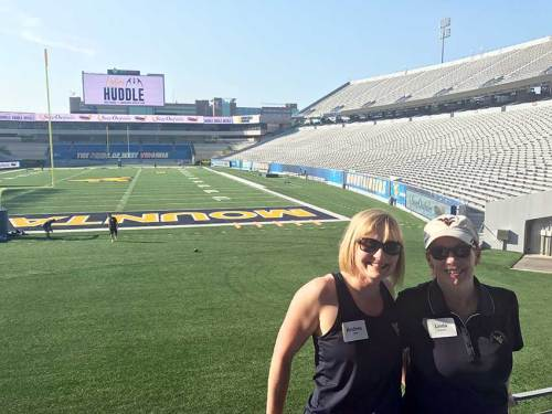 Ladies Huddle a hit for female Mountaineer fans