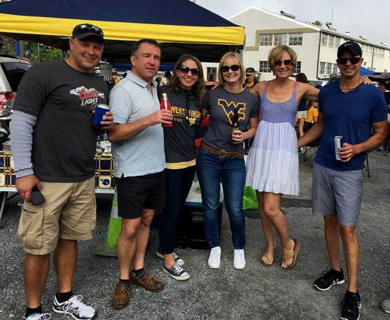 Spotlight Shines on WVU Tailgating