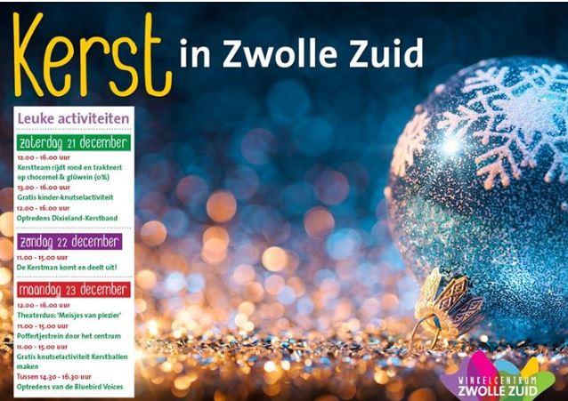 Wel drie redenen  waarom  kerst in Zwolle-Zuid zo gezellig is…