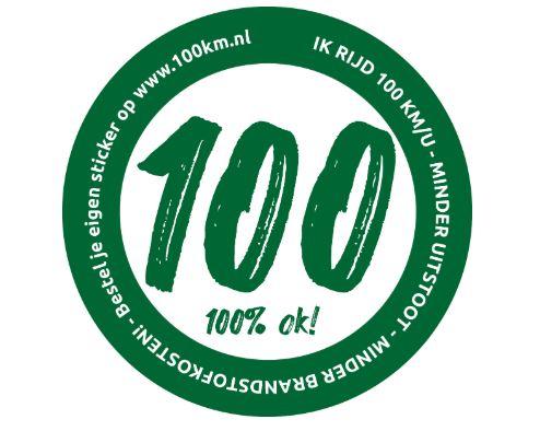 Broers van Esch uit Zwolle Zuid verkopen stickers tegen stikstof 100 rijden voor het milieu