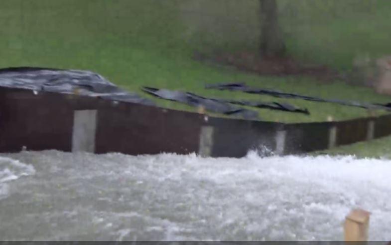 WDODelta stelt IJsseldijk bij Zwolle met golven en hoog water flink op de proef: dijk wordt afgesloten