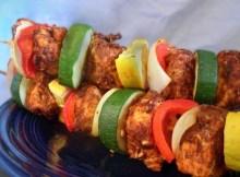 Weight Watchers Cajun Kebabs recipe