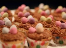 Weight Watchers Easter Nest Cupcakes recipe