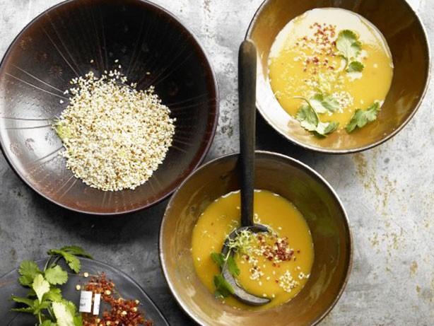 Weight Watchers Ginger Pumpkin Soup recipe