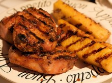 weight watchers grilled pineapple pork chops recipe