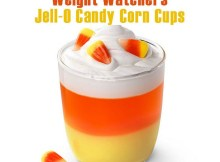 Jell-O Candy Corn Cups Recipe