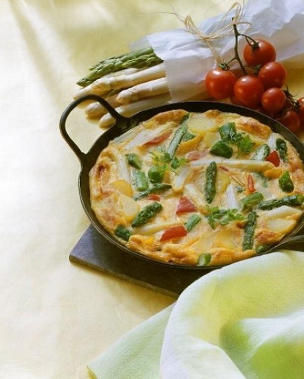 WeightWatchers Asparagus and Potato Frittata Recipe
