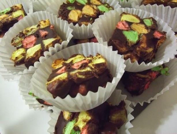 weight watchers chocolate confetti squares recipe