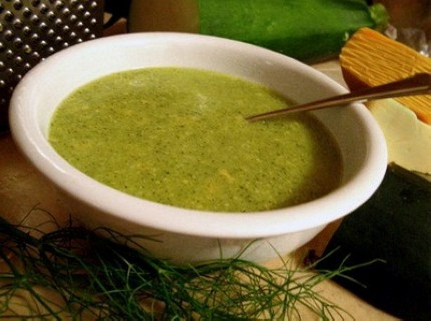 weight watchers herbed zucchini soup recipe