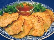 Weight Watchers Japanese vegetable pancakes recipe