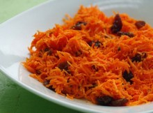 weight watchers no fat carrot raisin salad