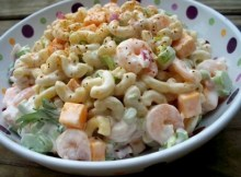 weight watchers shrimp macaroni salad recipe