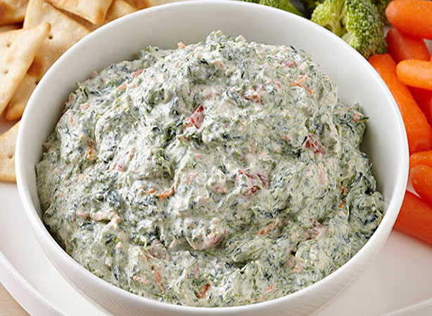 WeightWatchers Sour Cream and Spinach Dip Recipe