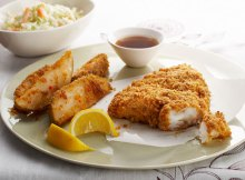 Weight Watchers Baked Fish and Chips Recipe