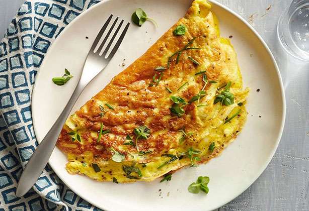Weight Watchers Fresh Herb Omelet Recipe