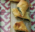 Weight Watchers Spinach, Herb & Cheese Phyllo Rolls recipe