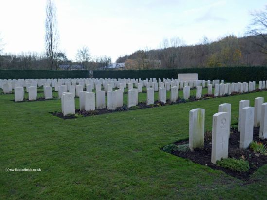 The Royal Berkshire Cemetery Extension today