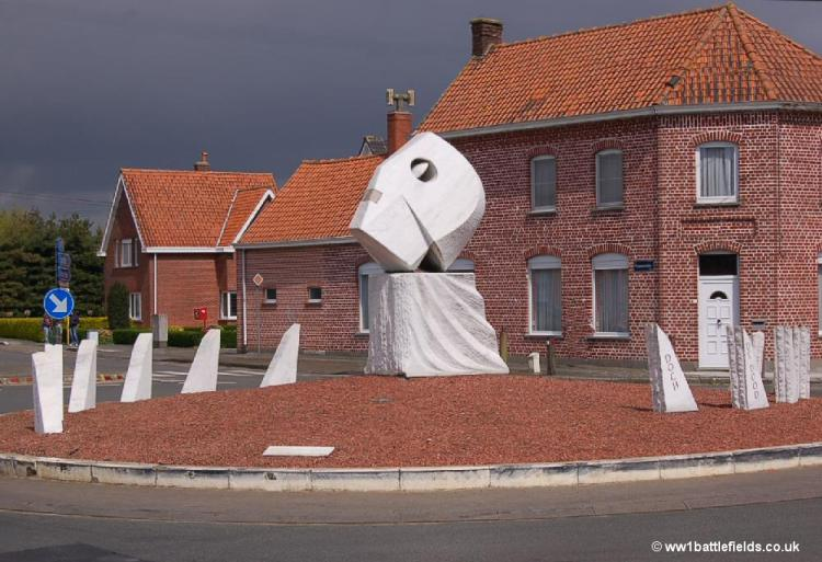 The roundabout at Broodseinde