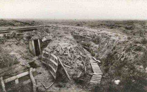 WW1 Trenches at Zonnebeke