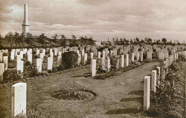Essex Farm Cemetery in the 1930s
