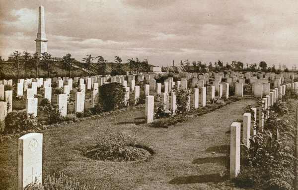 Essex Farm Cemetery in the 1930s