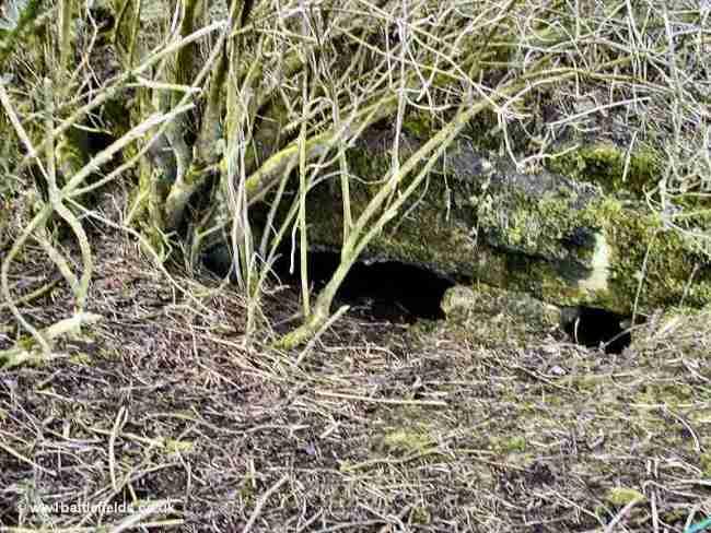 A bunker at the edge of Spanbroekmolen