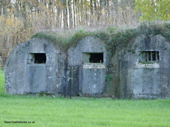 Bunkers near Strand Cemetery, Ploegsteert