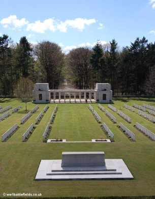 Buttes New British Cemetery & the NZ Memorial