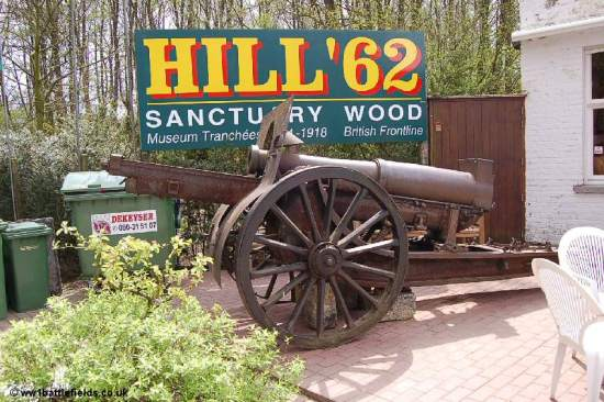 Hill 62 Museum at Sanctuary Wood