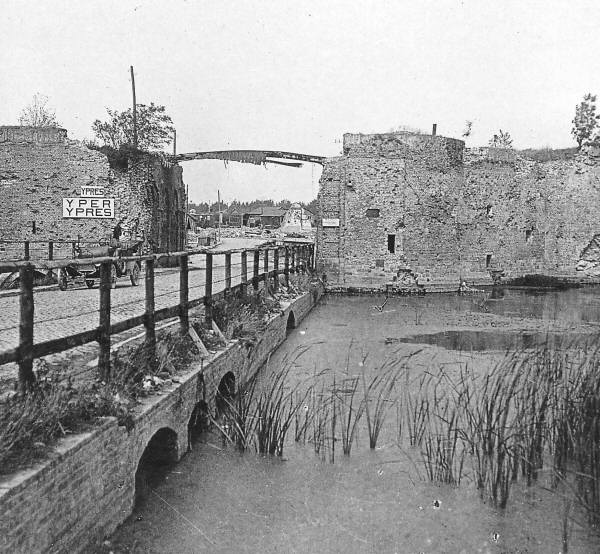 Lille Gate during or just after the War