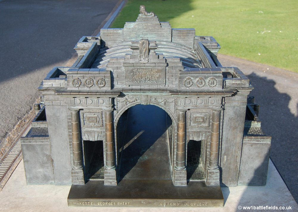 Model of the Menin Gate