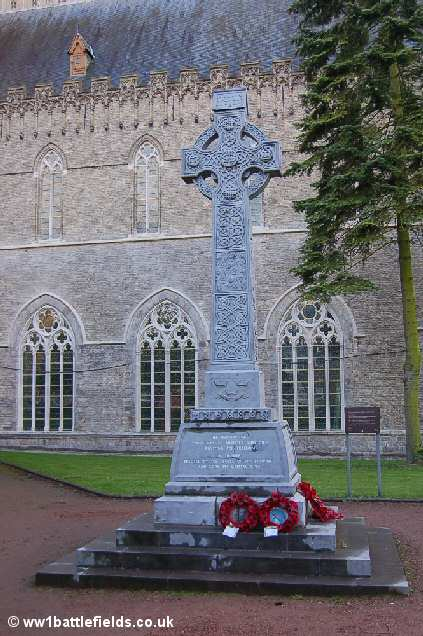 The Munster Memorial, Ypres