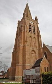 Langemark Church today
