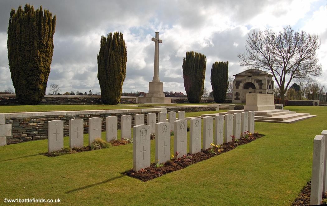 Woburn Abbey Cemetery, Cuinchy