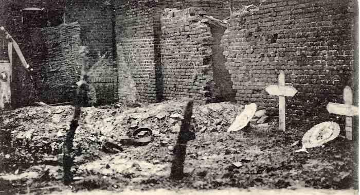 War time graves in Vermelles