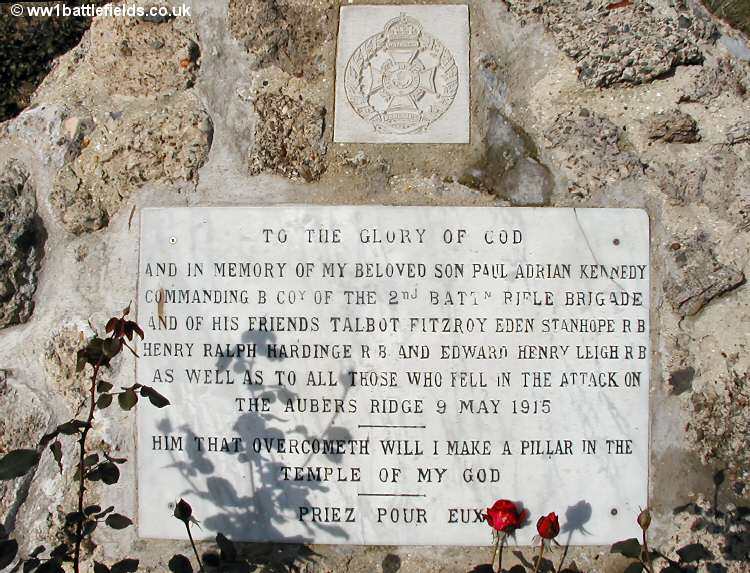 Private memorial to Captain Paul Kennedy