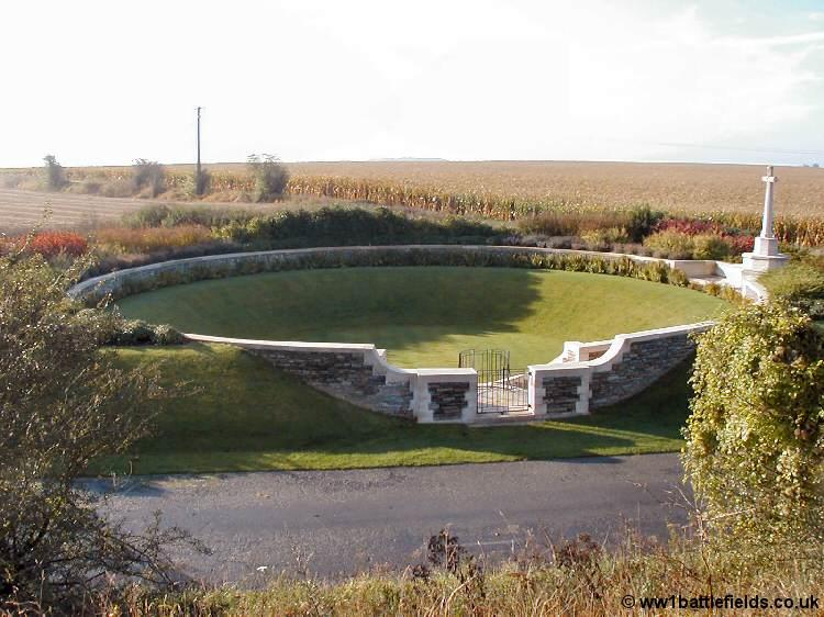 Zivy Crater Cemetery