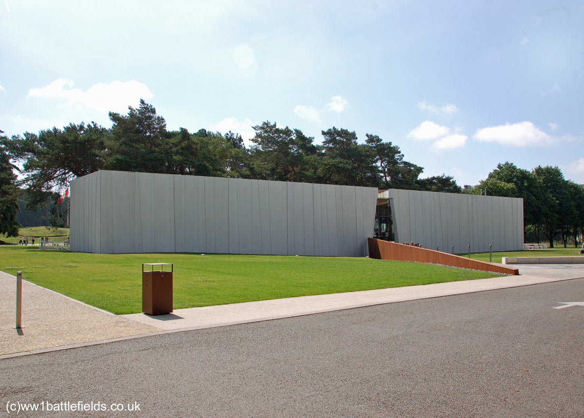 Visitor Centre at Vimy Ridge
