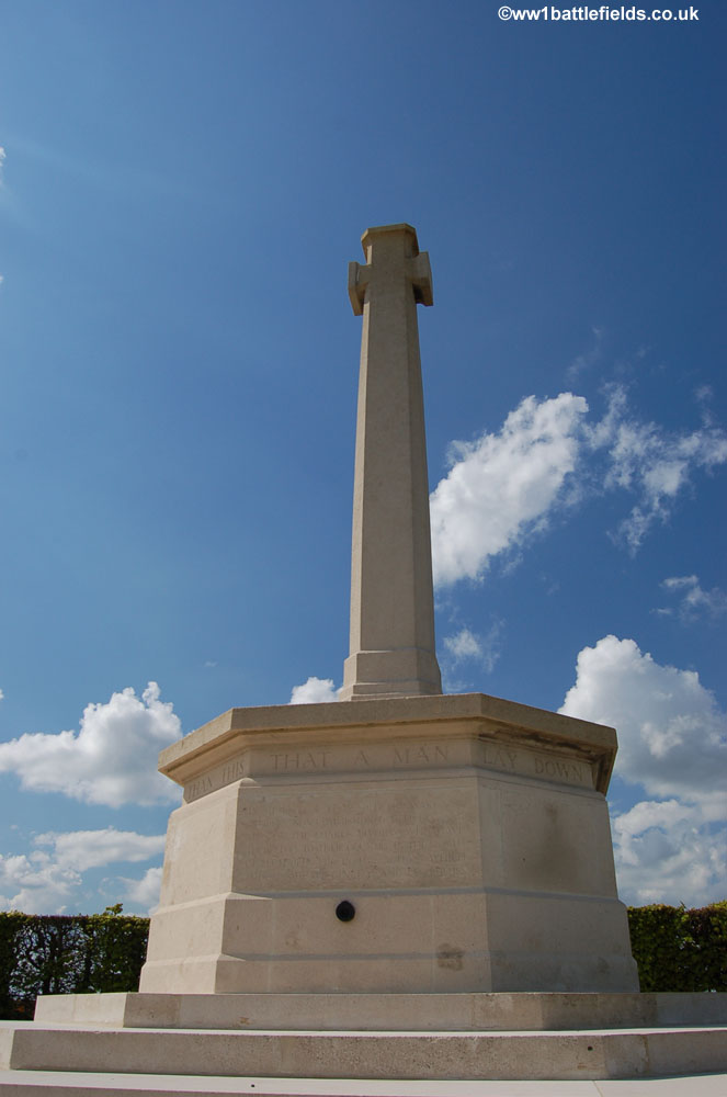 The Guards Division Memorial near Ginchy
