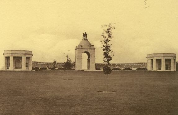 Delville Wood Memorial in the 1930s