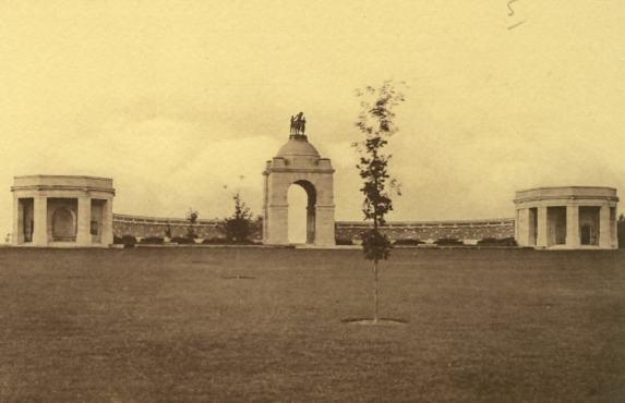 Delville Wood Memorial in the 1930s