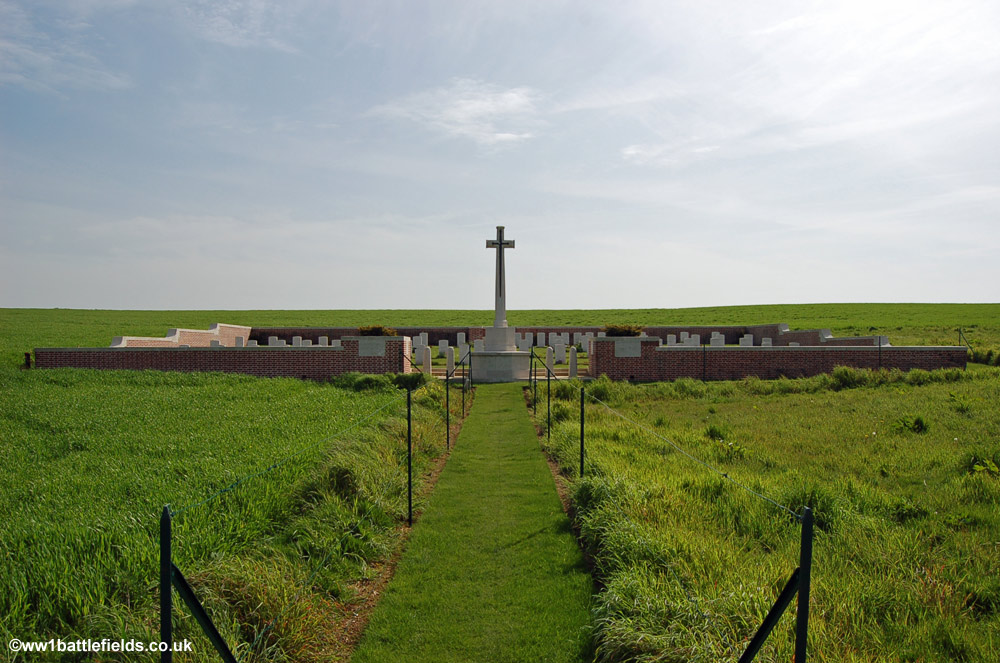 Point 110 New Military Cemetery