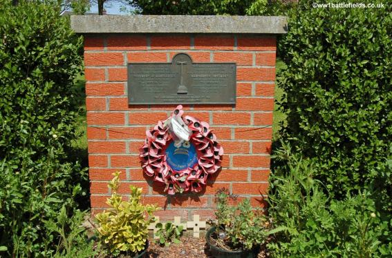 Memorial to the Manchester Regiment in Mametz