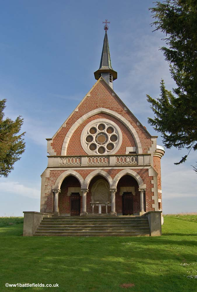 French chapel near Serre