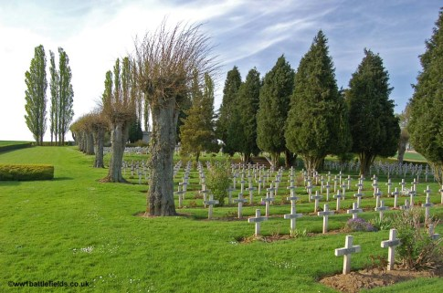 The French Cemetery near Serre