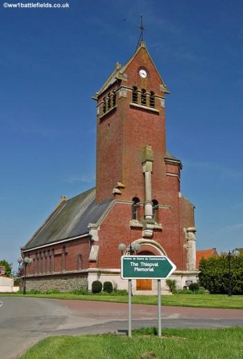 Thiepval Church