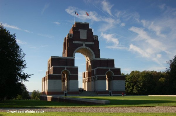 The Thiepval Memorial to the Missing