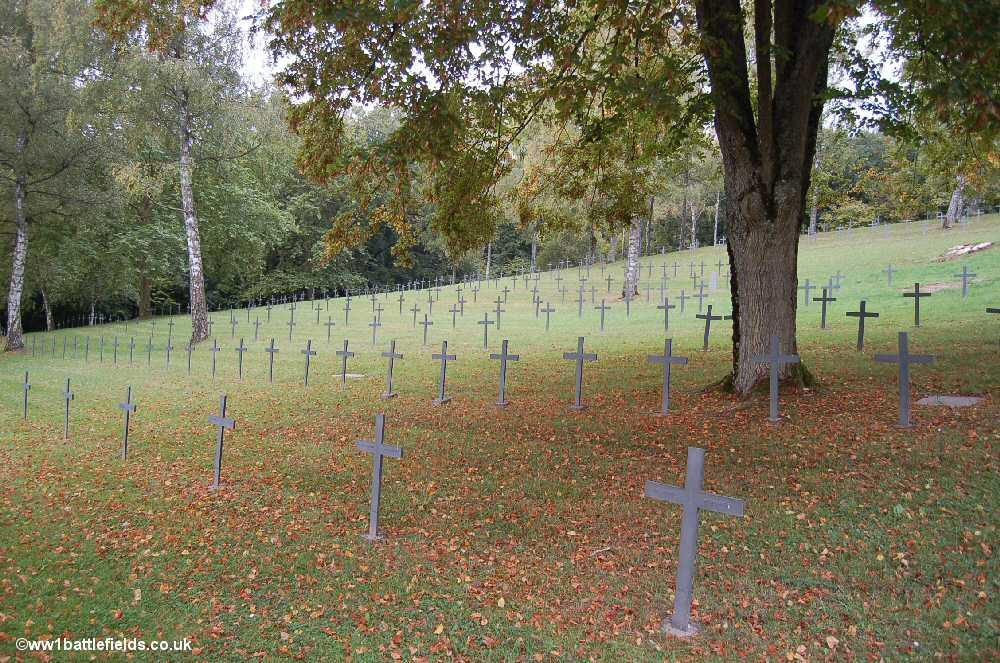 Azannes II German Cemetery