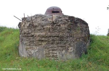 Gun turret at Fort Douaumont