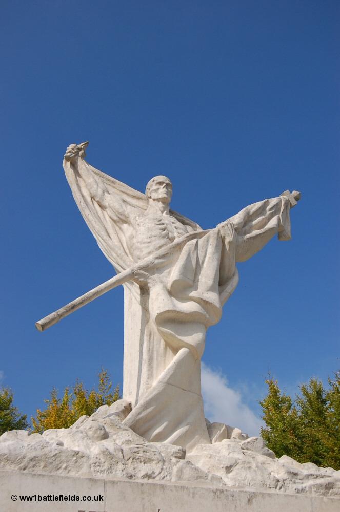 Mort-Homme 'Skeleton Memorial, Verdun